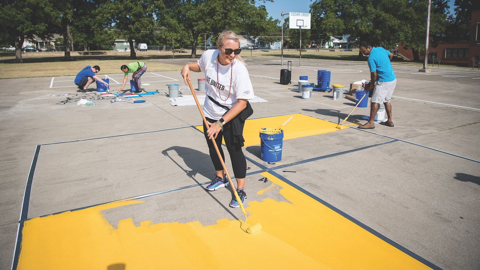 United Way volunteers impact the education, income and health of others all across D-FW.