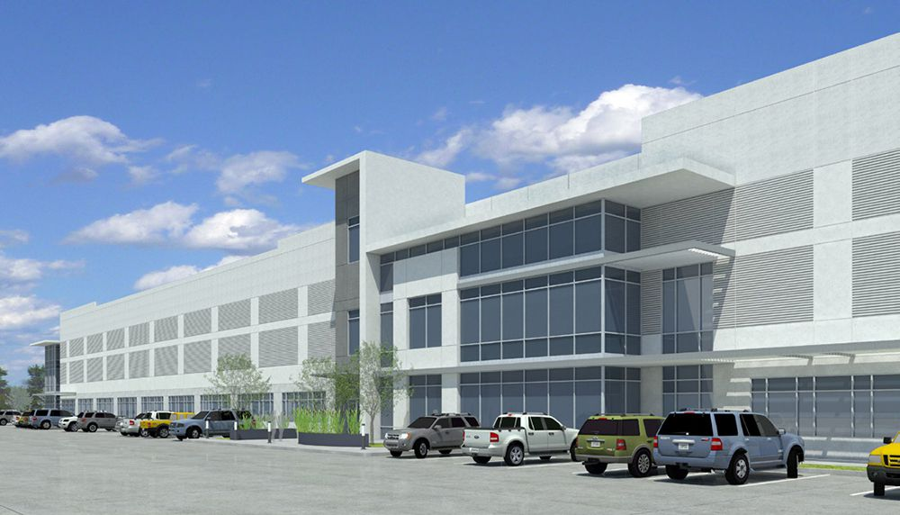 The more than 900,000-square-foot warehouse project near I-20 will open next year.