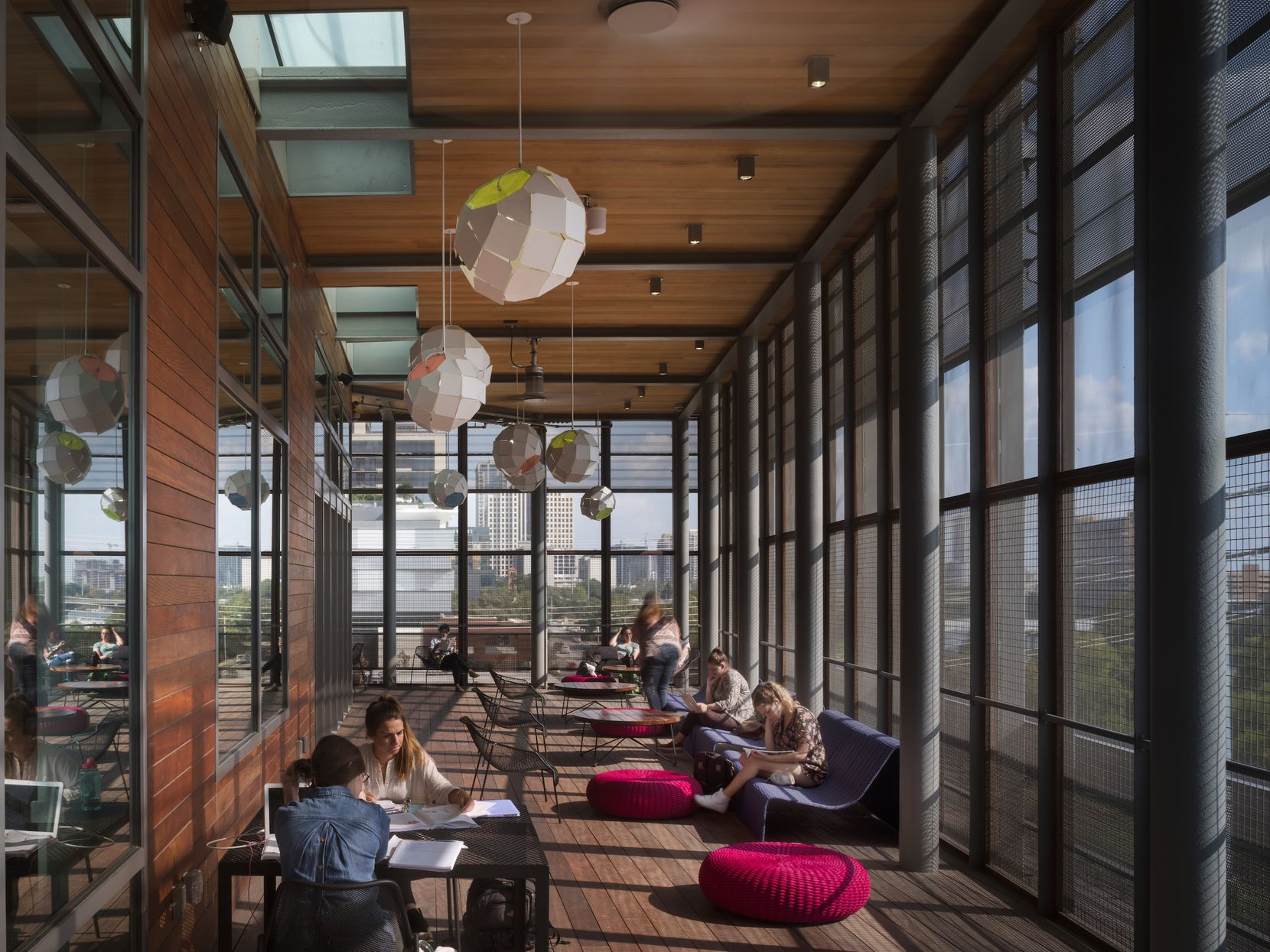 The new Austin Central Library is garnering acclaim for its architecture.