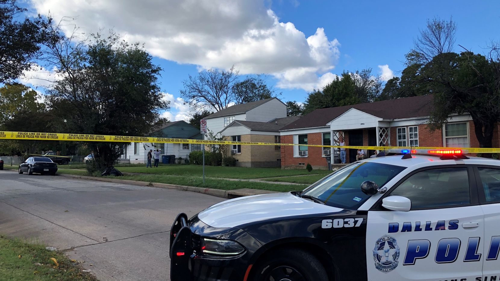 A man was killed Thursday afternoon in Oak Cliff, police said.