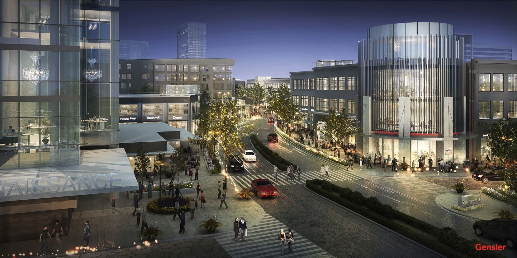 Work will start in February on the first phase of the $2 billion Legacy West mixed-use development in Plano. 11042014xBIZ
