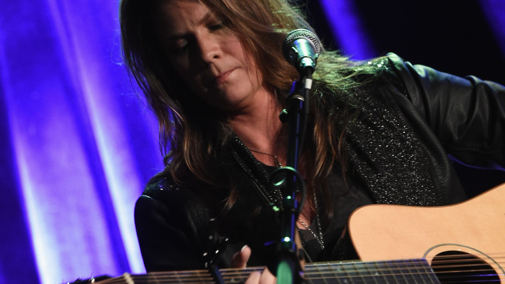 """NASHVILLE, TN - NOVEMBER 10:  Bridgette Tatum performs during """"Songwriters 4 Songwriters - Ladies' Night"""" A fundraiser to benefit The Pen Fund at 3rd and Lindsley on November 10, 2015 in Nashville, Tennessee."""