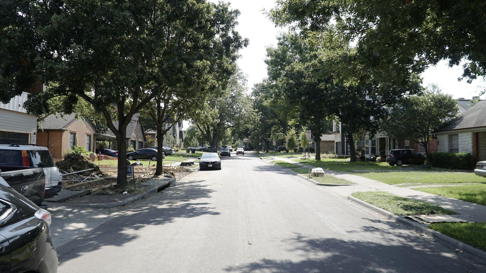 Scenes from Lower Greenville Avenue in Dallas on Saturday, July 31, 2021.