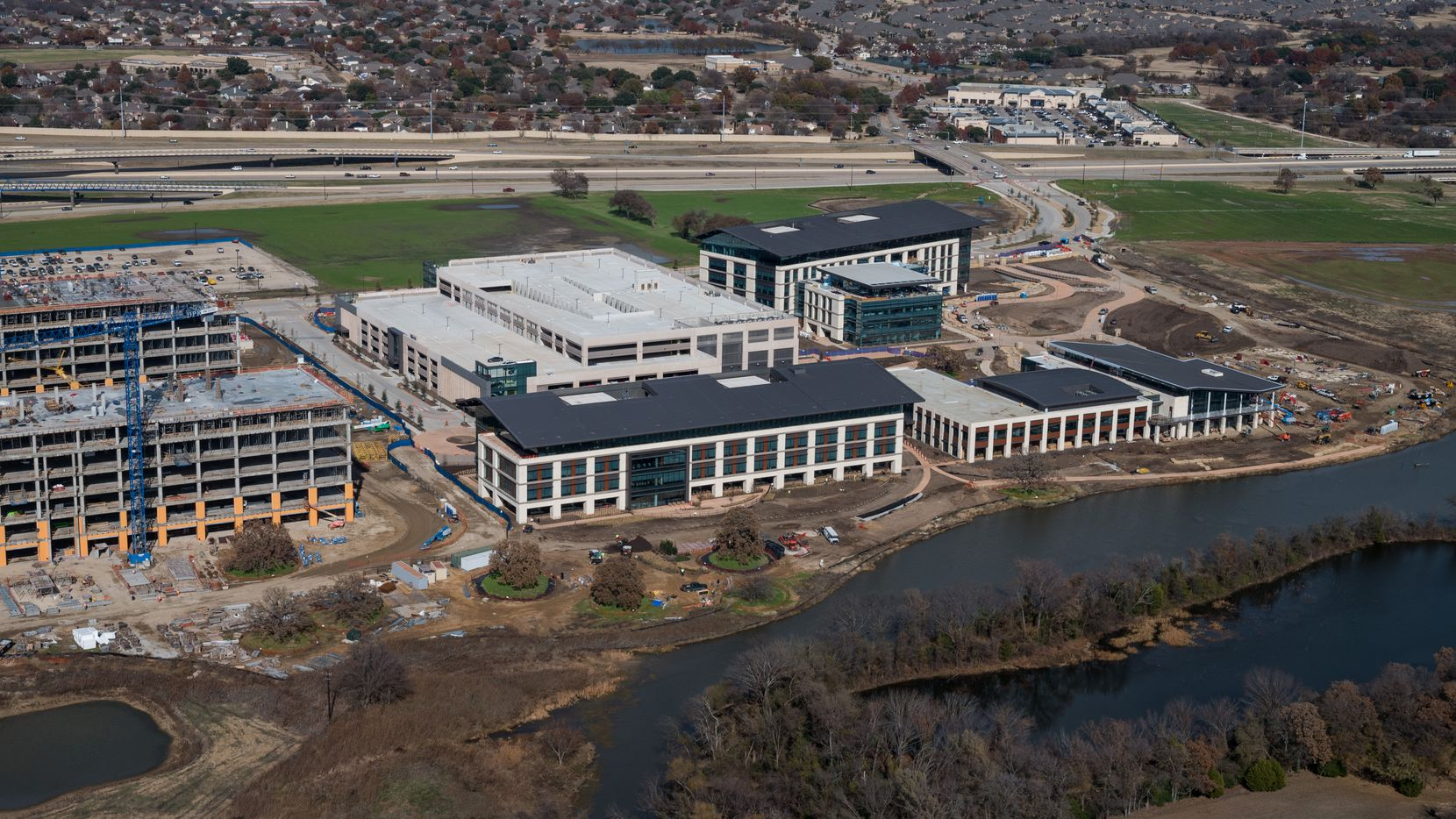 Charles Schwab's new Westlake headquarters is one of the additions to AllianceTexas.