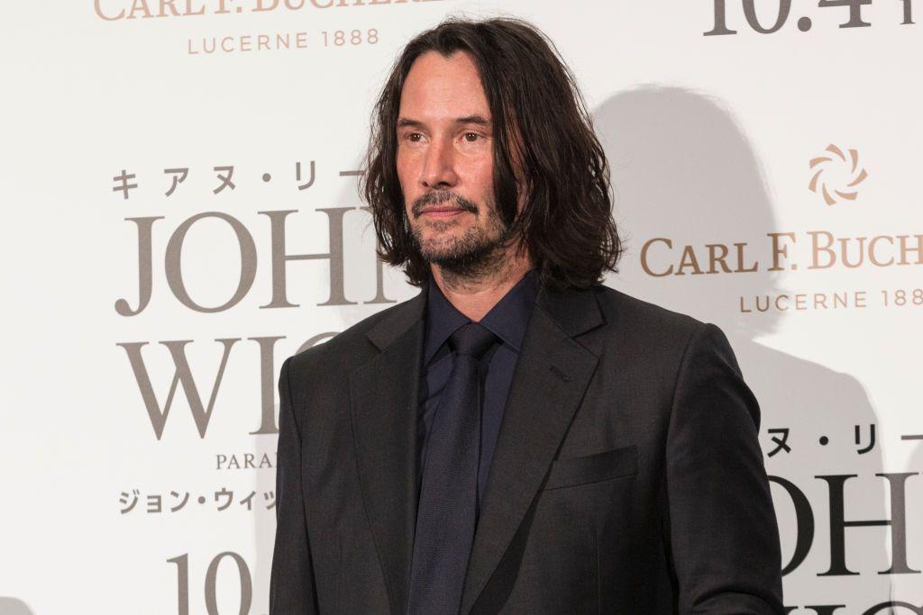 Keanu Reeves fue visto grabando Matrix 4 en San Francisco.