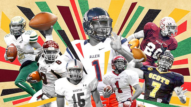 Who is the best Texas high school football player you've ever seen? Here's who coaches and media —past and present —picked.