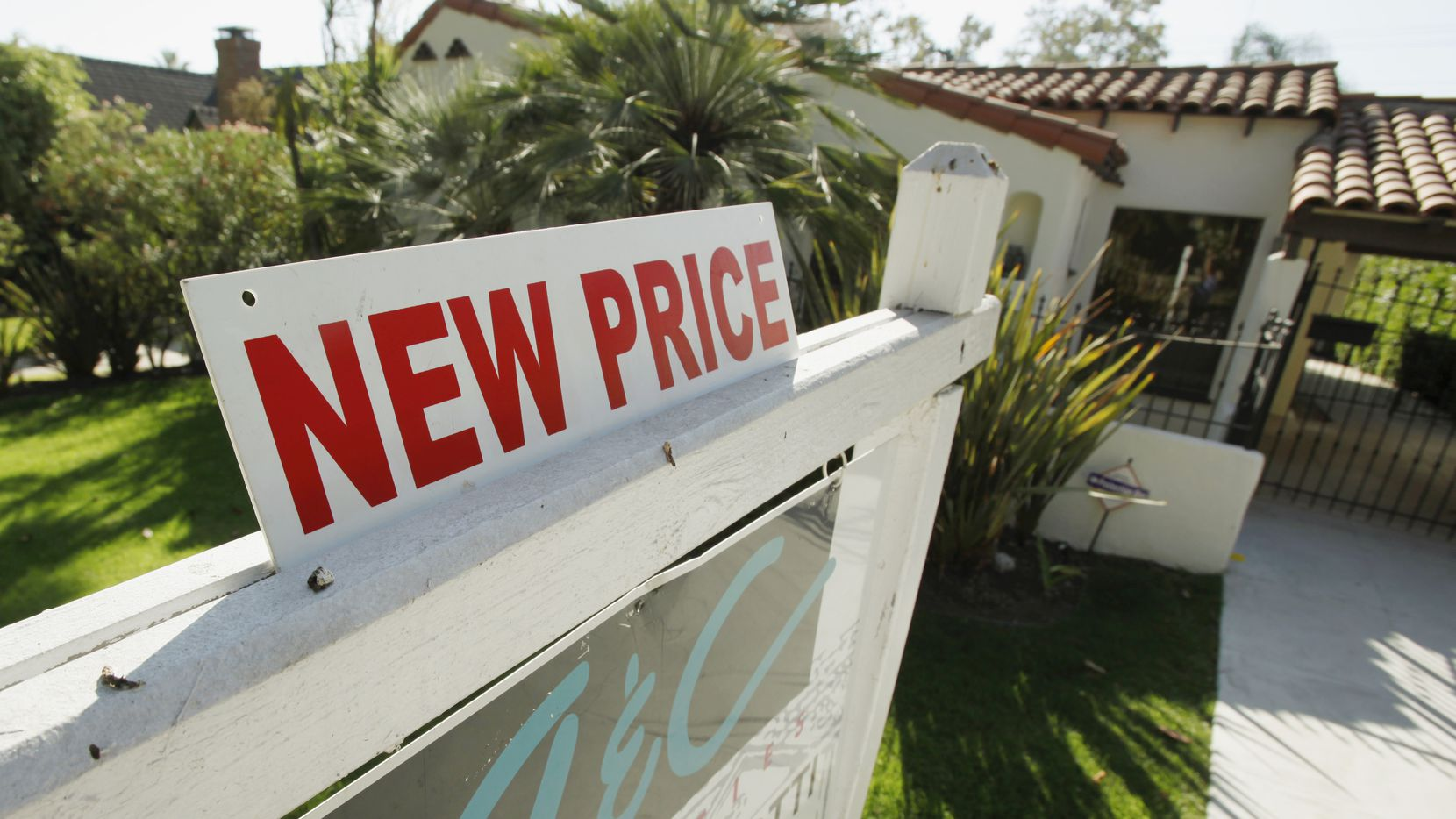 Dallas-area home prices were up 8 percent in September from a year earlier.