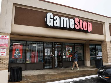 A GameStop at North Galloway Avenue in Mesquite.