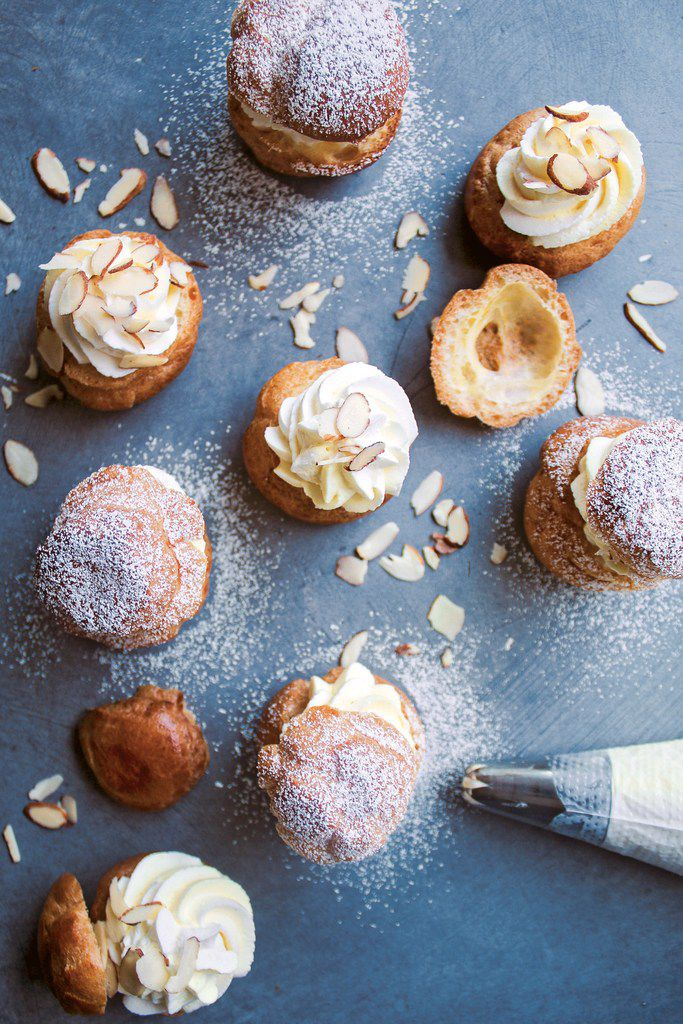 Daulat ki Chaat Cream Puffs from Milk & Cardamom cookbook. Reprinted with permission from Milk & Cardamom by Hetal Vasavada, Page Street Publishing Co. 2019.