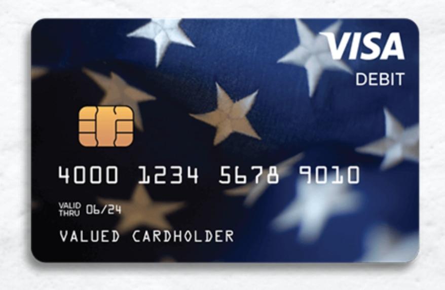 Así lucirán las tarjetas de débito que serán enviadas por el IRS con el pago del tercer estímulo económico.