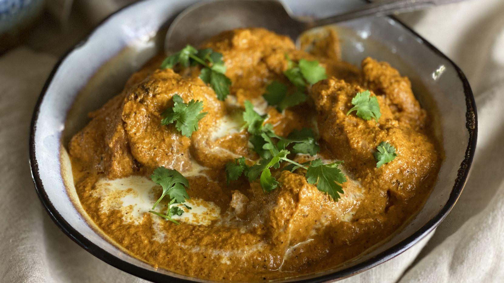 Celebrate World Butter Chicken Day with everyone's favorite Indian dish.