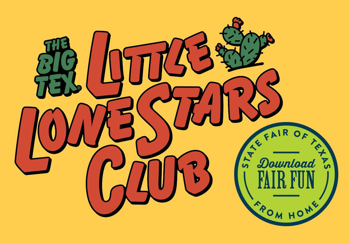 Little Lone Stars will be able to celebrate the fair from home this year with some special activities.