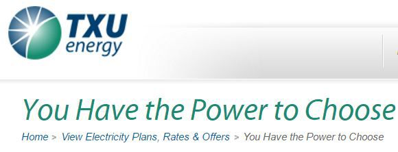 """Some electricity companies use keywords """"power to choose"""" because that's also the name of the state-sponsored site."""