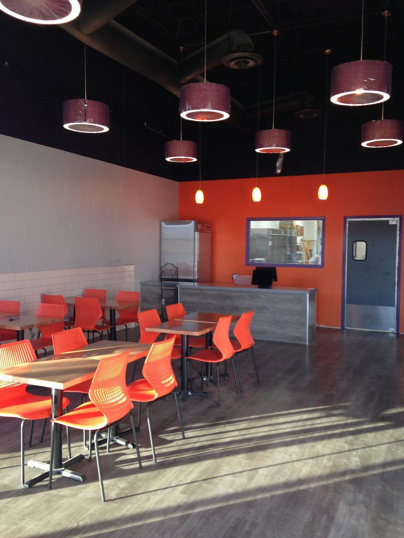 Vitality Bowls is designed to feel like a cafe.