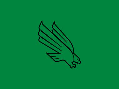North Texas Mean Green logo (UNT).