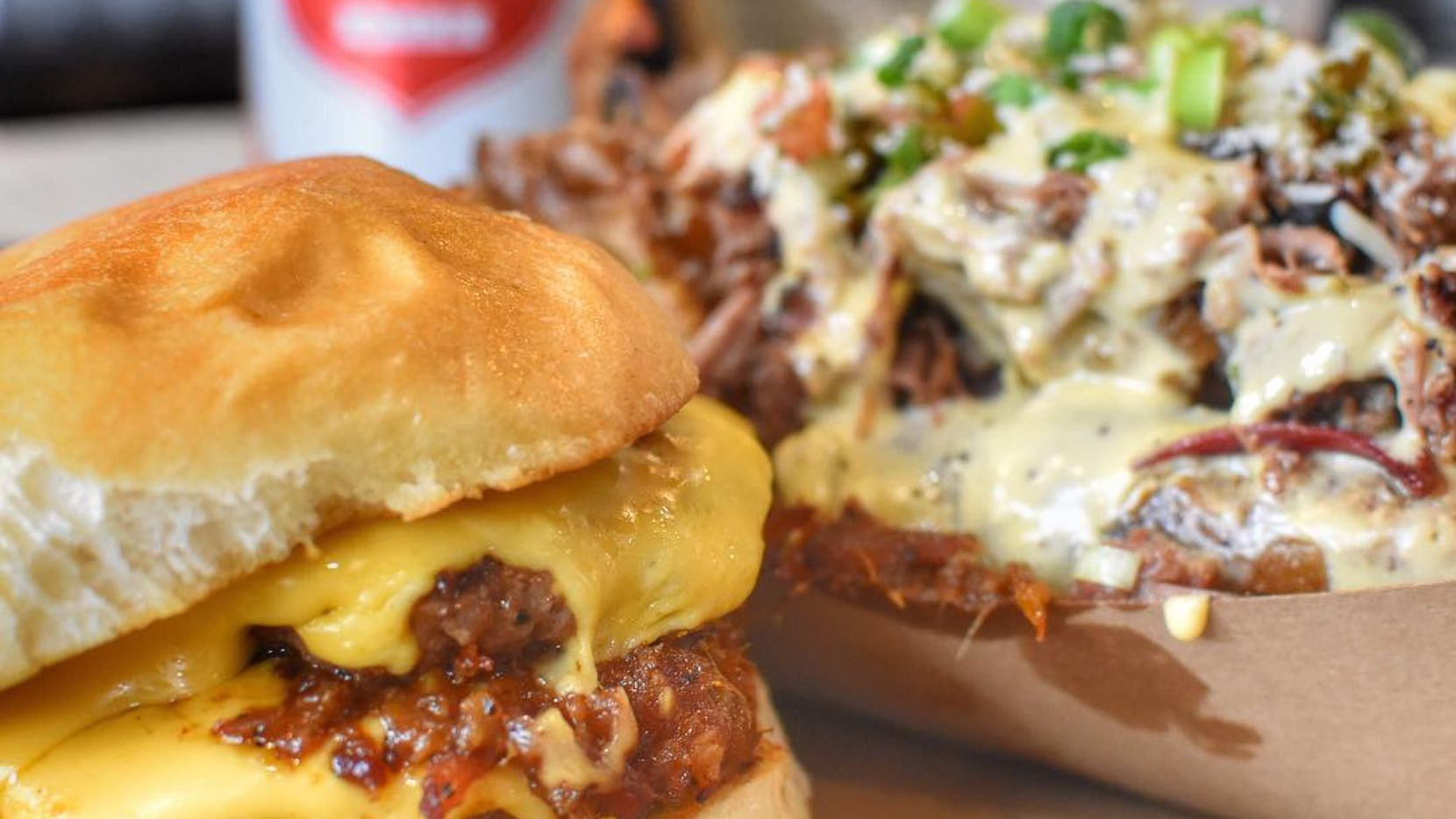 Heim BBQ in Fort Worth is selling burgers on Mondays after 4 p.m.