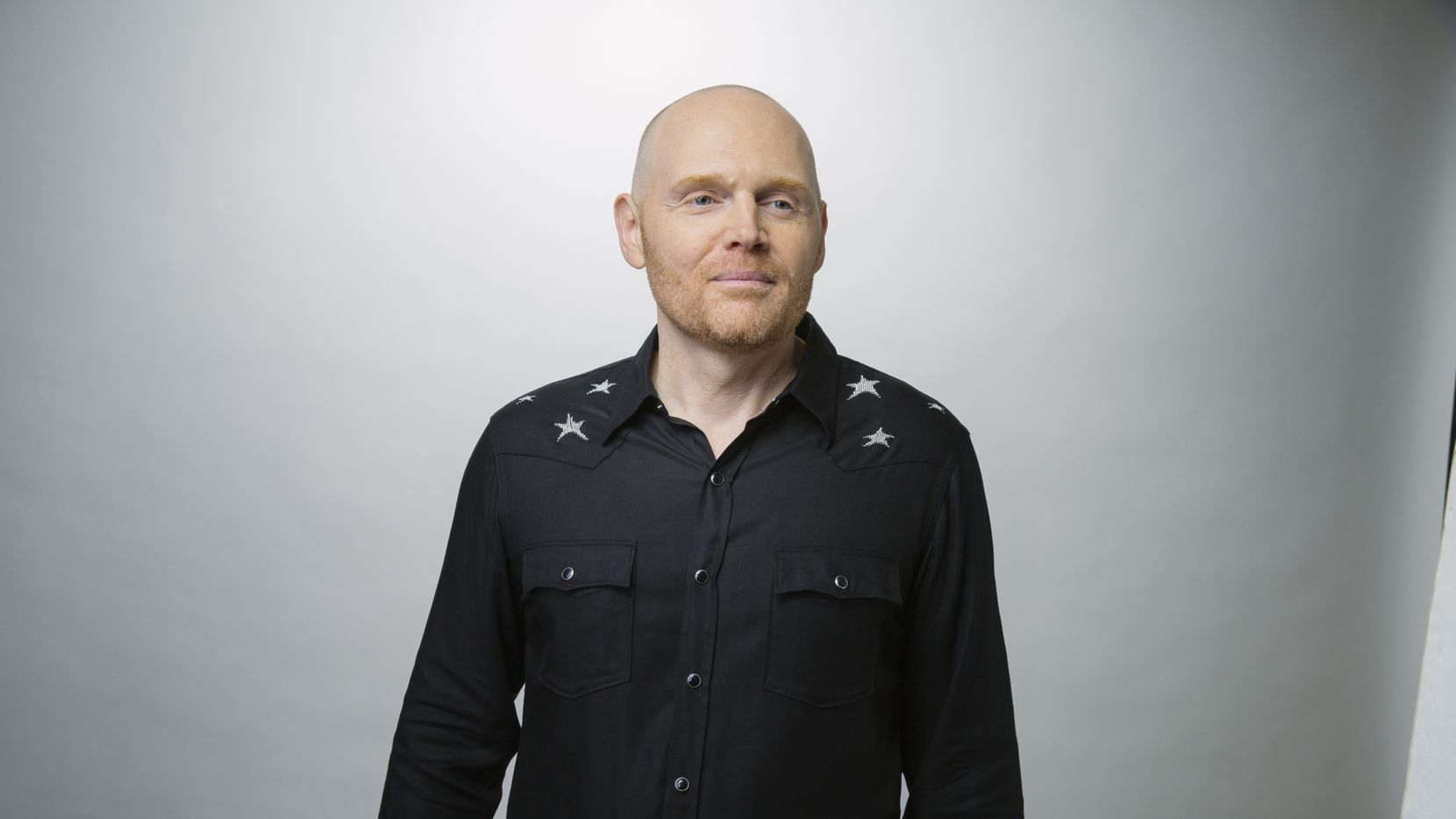 Comedian Bill Burr poses for a publicity photo. Burr is performing two shows at Strauss Square on Dec. 2.