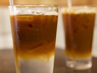 The Espresso Tonic drink at Ascension Coffee on July 1, 2020 in Dallas.