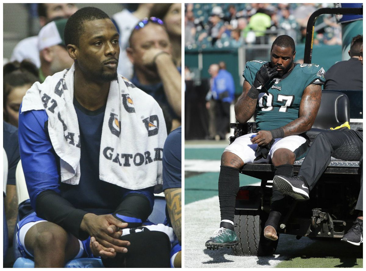 Harrison Barnes (left) and Malik Jackson are paying for the funeral of Atatiana Jefferson.
