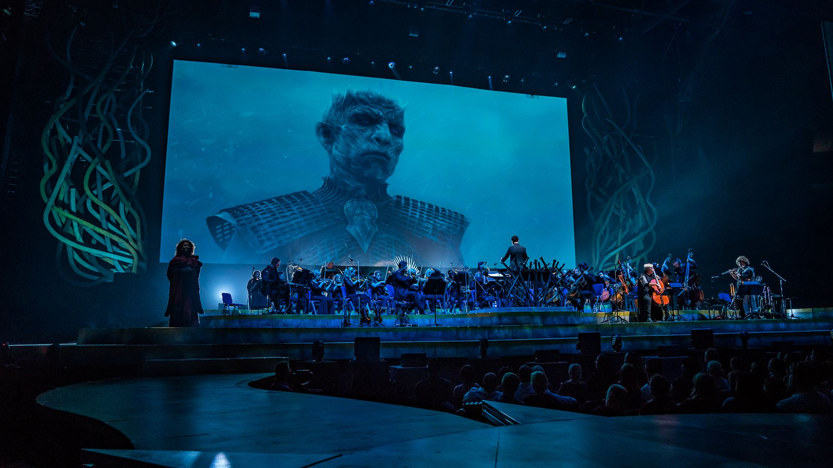 The eerie music of the White Walkers will remind you that Winter is Coming.