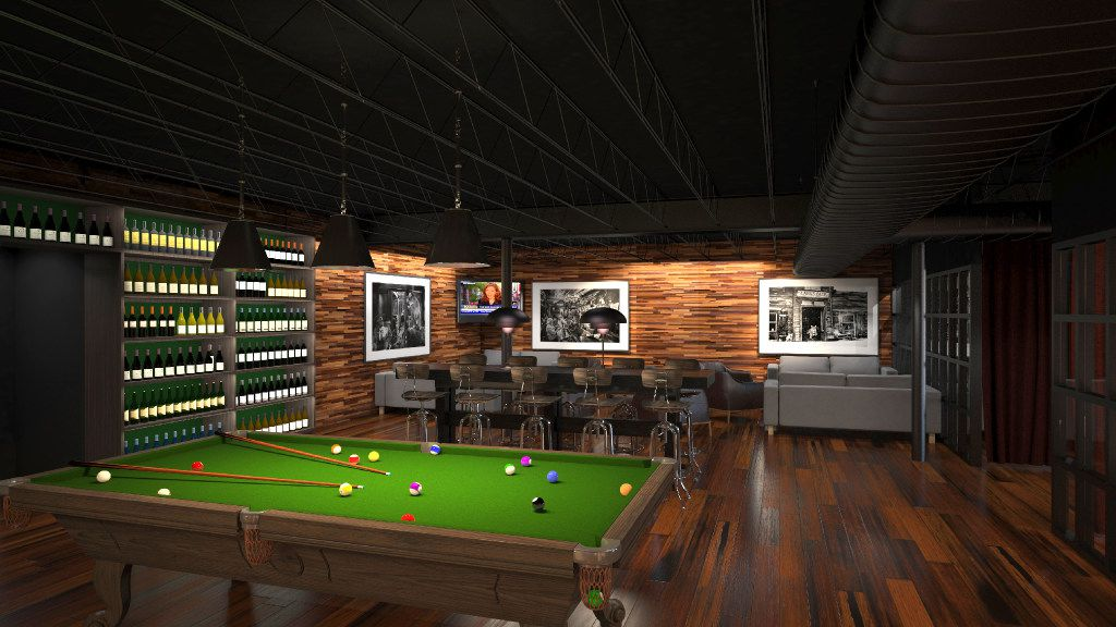 The West Room at Phil Romano's Network Bar will feature a pool table. The club in Trinity Groves is slated to open in October.