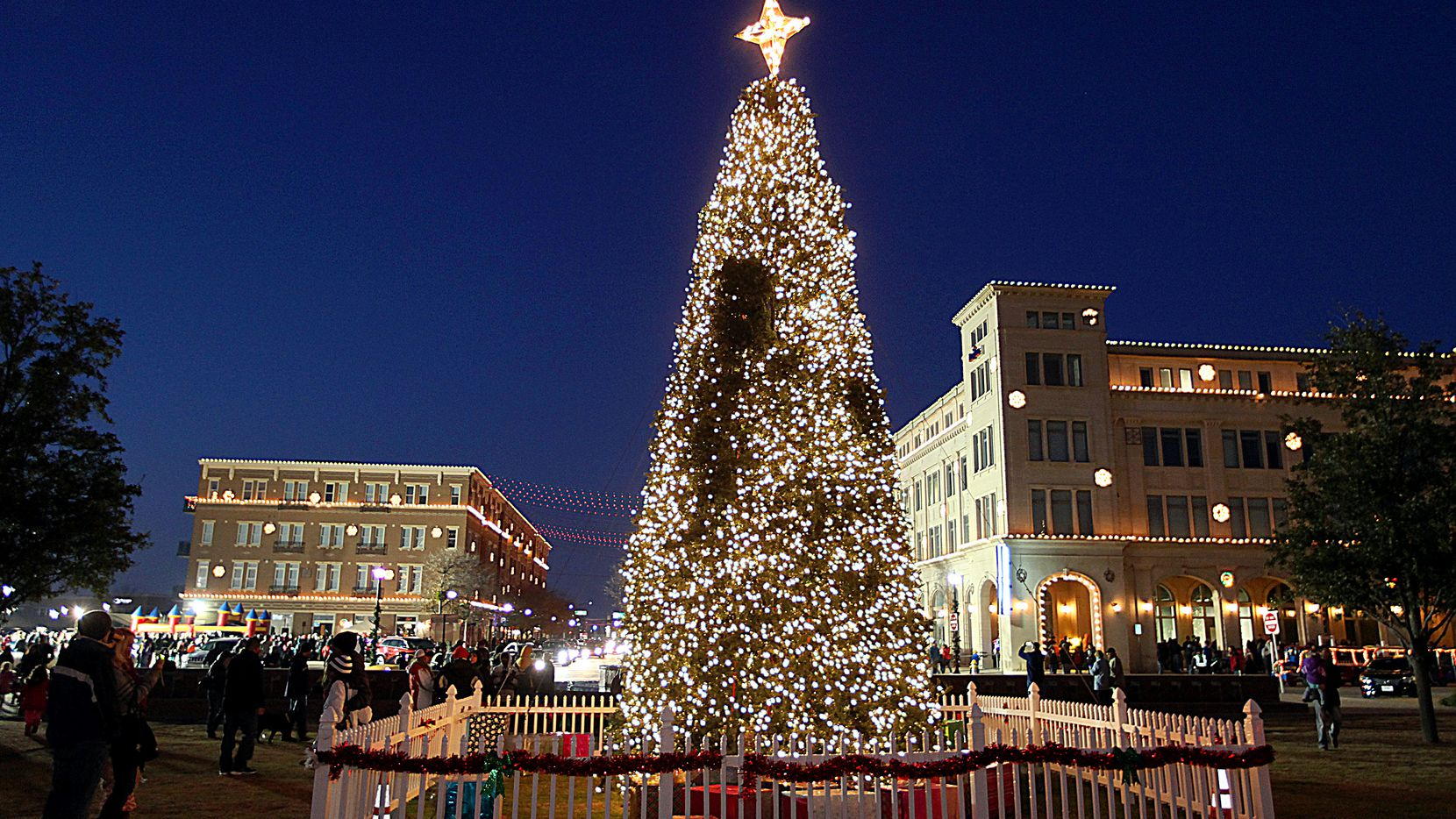 Christmas in the Square in Frisco Square runs nightly through Jan. 4.