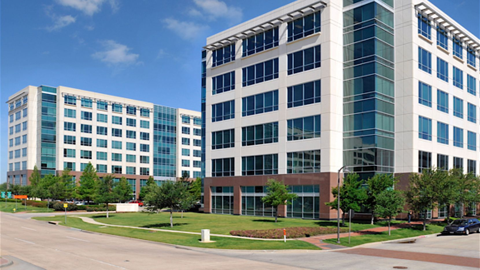 KBS has owned the three Legacy Town Center office buildings for almost a decade.