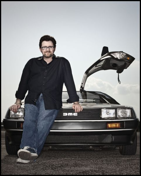 After landing a couple of reported six-figure deals for the book  Ready Player One  and the movie rights, Ernest Cline went out and bought himself a DeLorean, like the one featured in the '80s classic  Back to the Future.