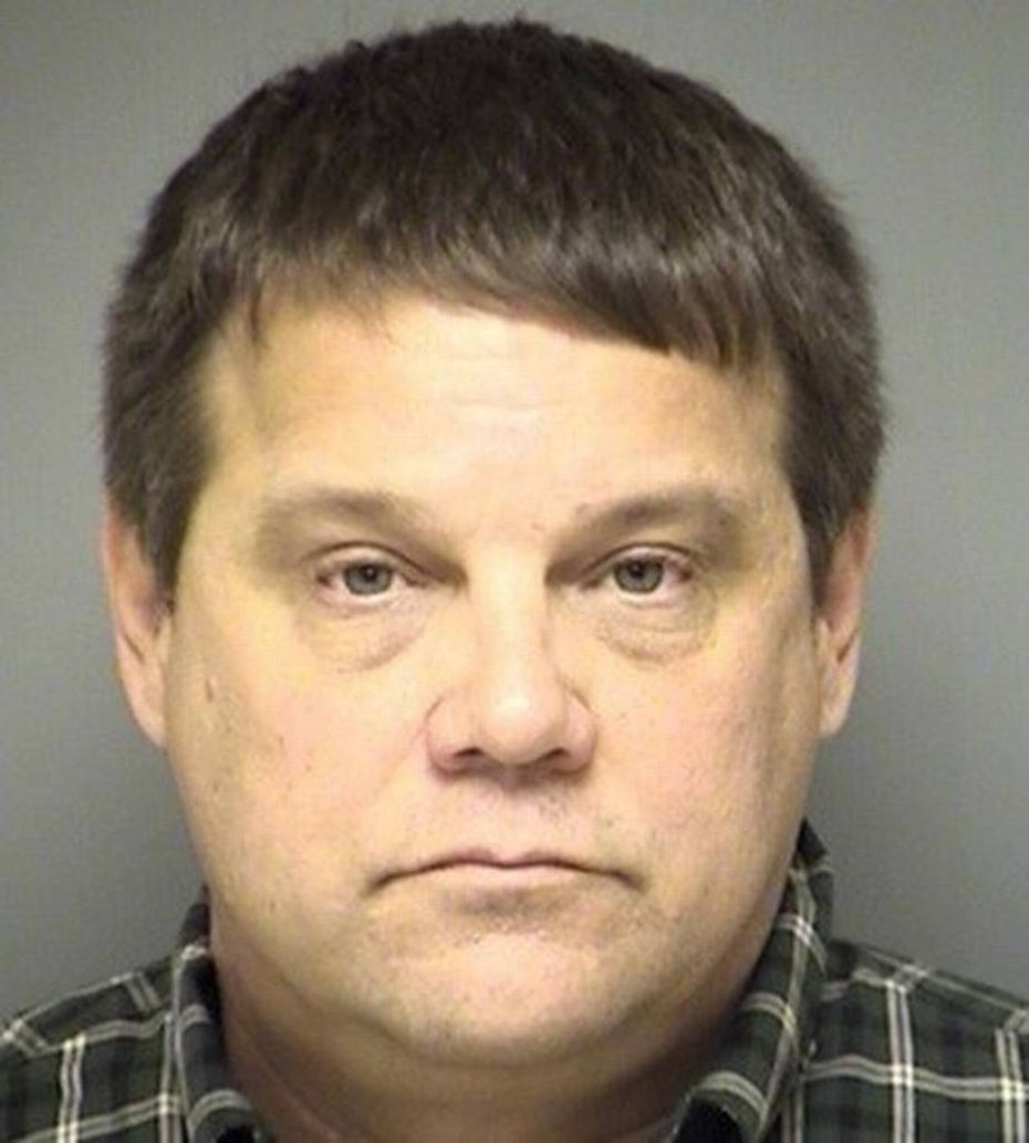 Former Northwest ISD trustee Kerry Jones' mug shot from the Denton County Jail.