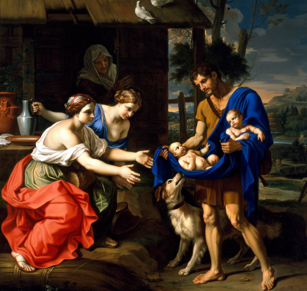 Mignard's The Shepherd Faustulus Bringing Romulus and Remus to His Wife is a lesser-known masterpiece at the Dallas Museum of Art.