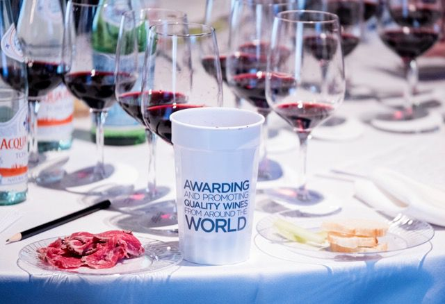 Judging at the TexSom International Wine Awards took place in February at the Irving Convention Center.