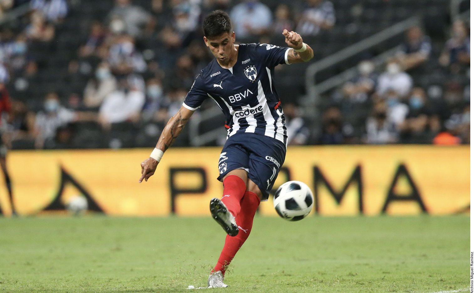 Maximiliano Meza (foto) llegó a Rayados para el Clausura 2019 proveniente del Independiente y Sánchez en el Clausura 2017 tras jugar con el Racing.