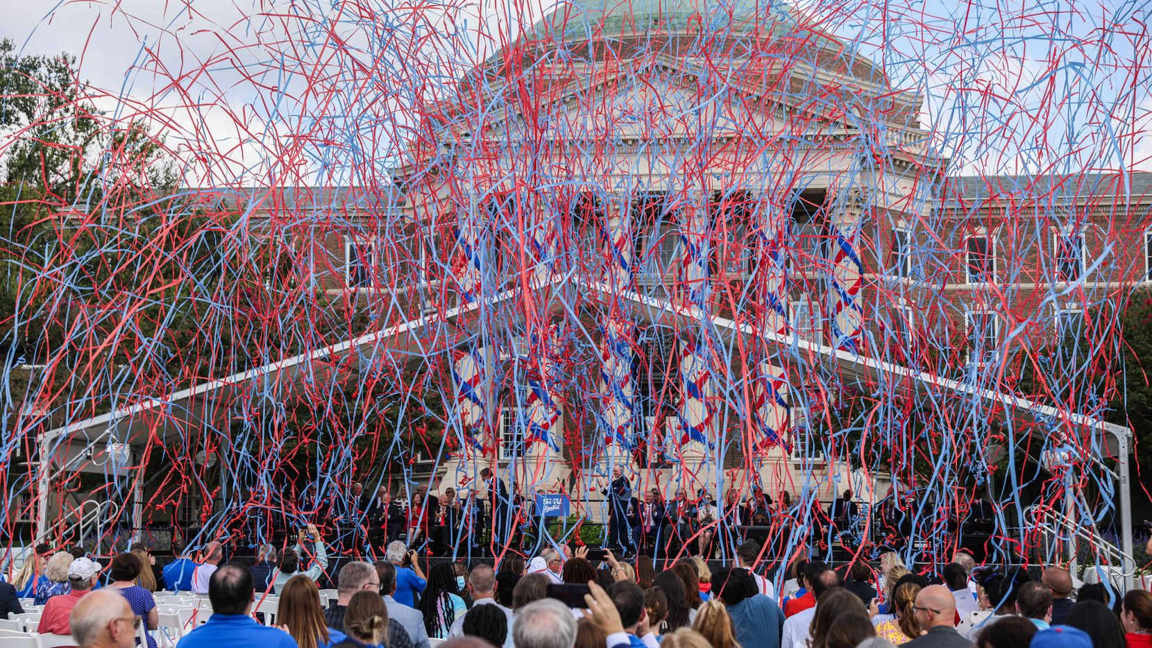 SMU President R. Gerald Turner kicked off a $1.5 billion multiyear fundraising campaign that will deliver major benefits to the city and the North Texas region.