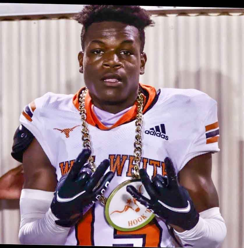 """Defensive player of the week J""""coi Ware of W.T. White. (Photo provided)"""