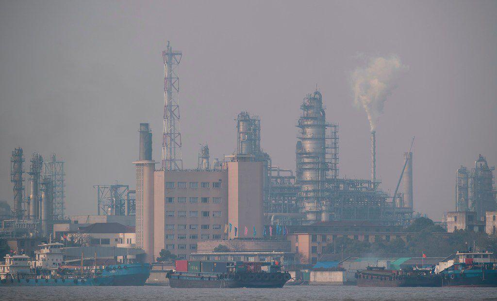 The Shanghai Gaoqiao Co. Refinery in Shanghai