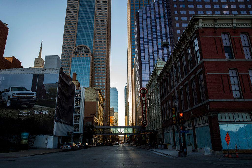The Majestic Theatre in downtown Dallas.