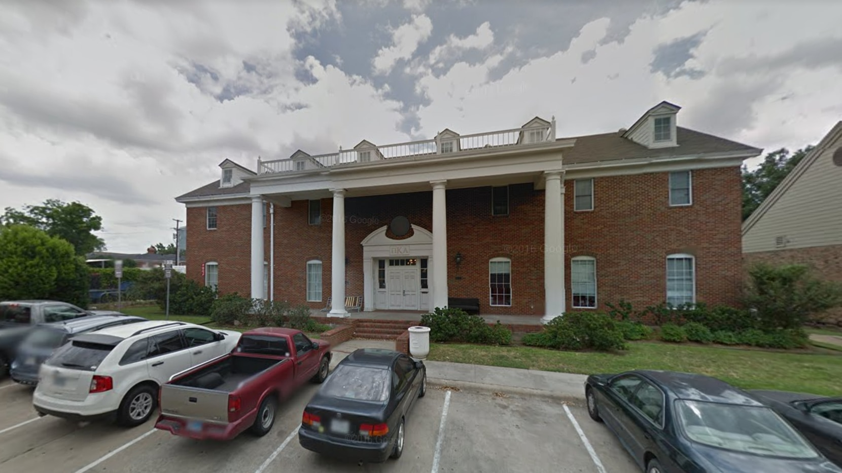 The fraternity house for Pi Kappa Alpha's chapter at Southern Methodist University. (Google Maps)