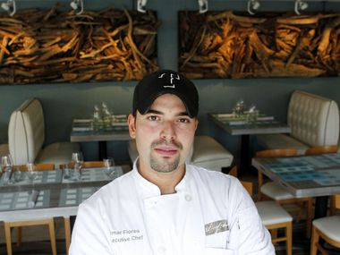 El Paso native chef Omar Flores was the executive chef at Driftwood.