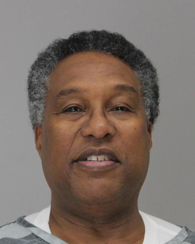 Dwaine Caraway as he looked last week, when he was transferred from federal prison to Dallas County jail.