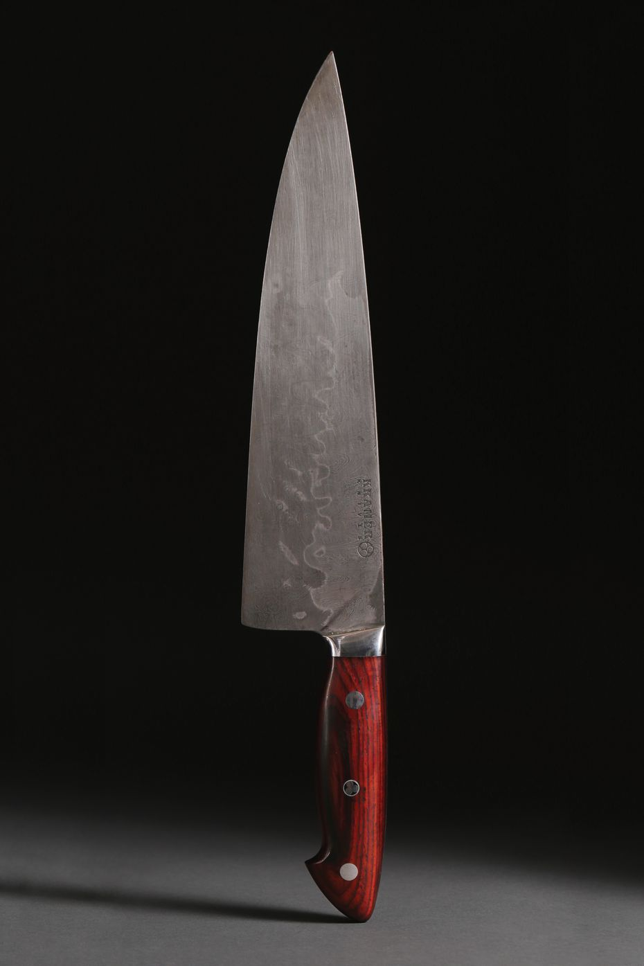 One of the highest-dollar items in the Anthony Bourdain auction collection is a custom-made knife.