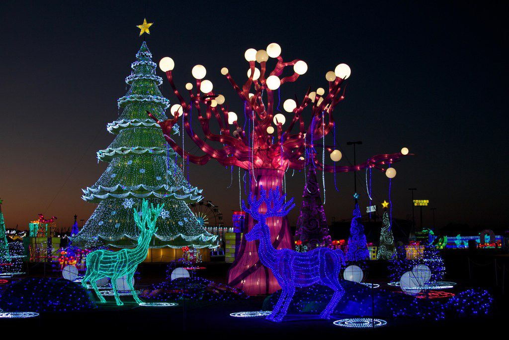 Magical Winter Lights, a lighted attraction, will be in Grand Prairie for the 2017 holiday season.
