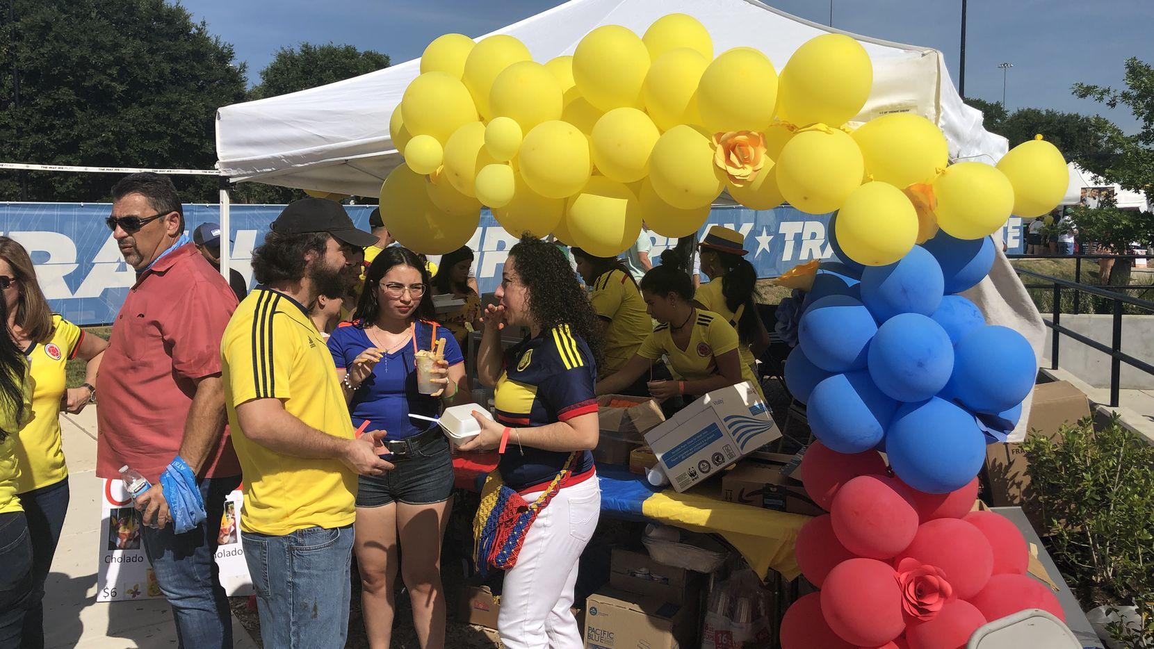 Comunidad colombiana en Dallas celebró nuevo aniversario de su Independencia.