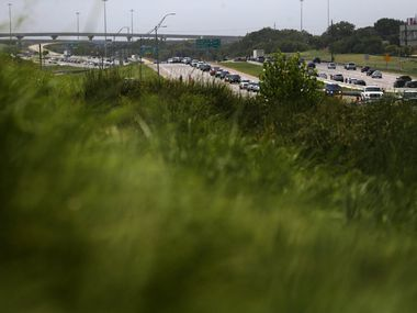 Expect delays on Interstate 20 frontage roads through Grand Prairie starting today. (Rose Baca / The Dallas Morning News)