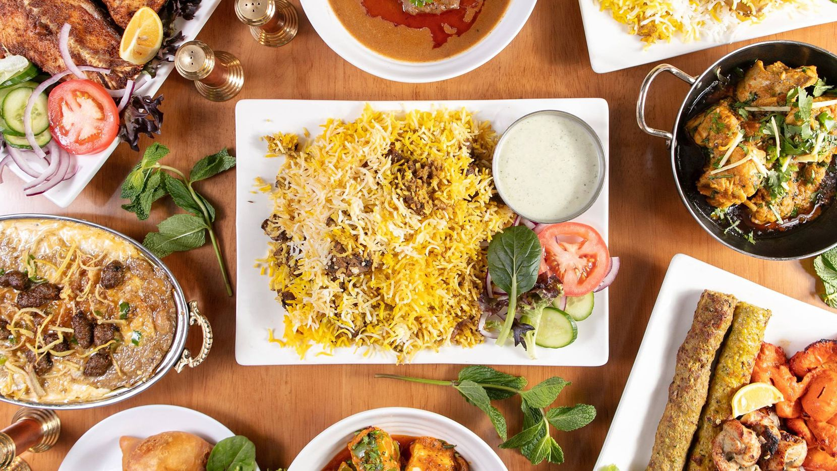 Baba Ali's Kitchen opened in January near Grandscape on The Colony and Lewisville line.