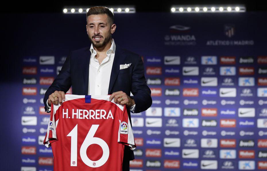 Atlético de Madrid firmó al mexicano Héctor Herrera el 5 de julio.
