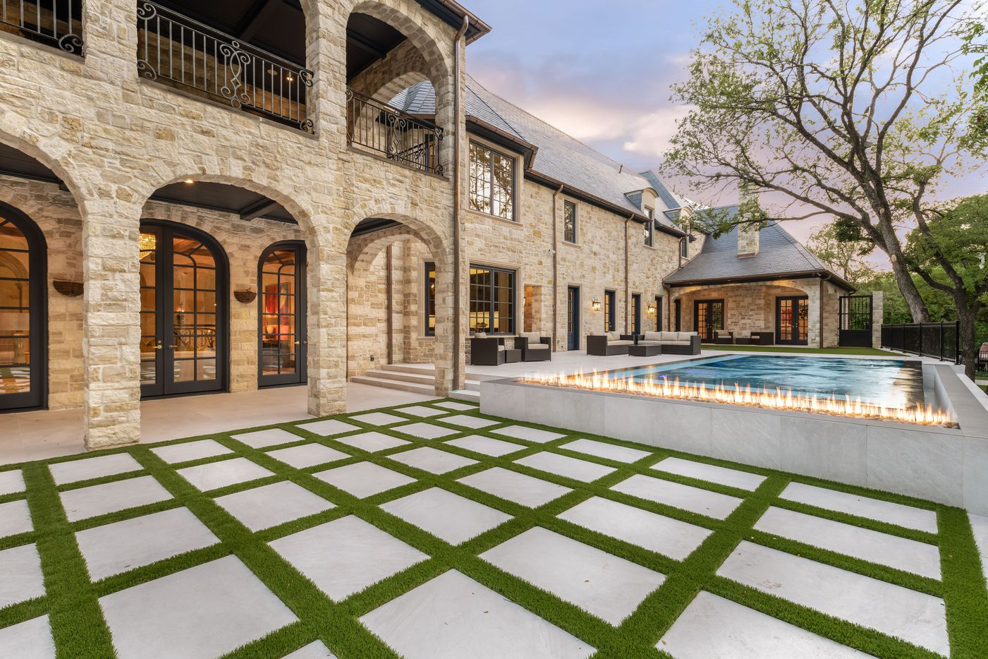 Take a look at the home at 9727 Audubon Place in Dallas.