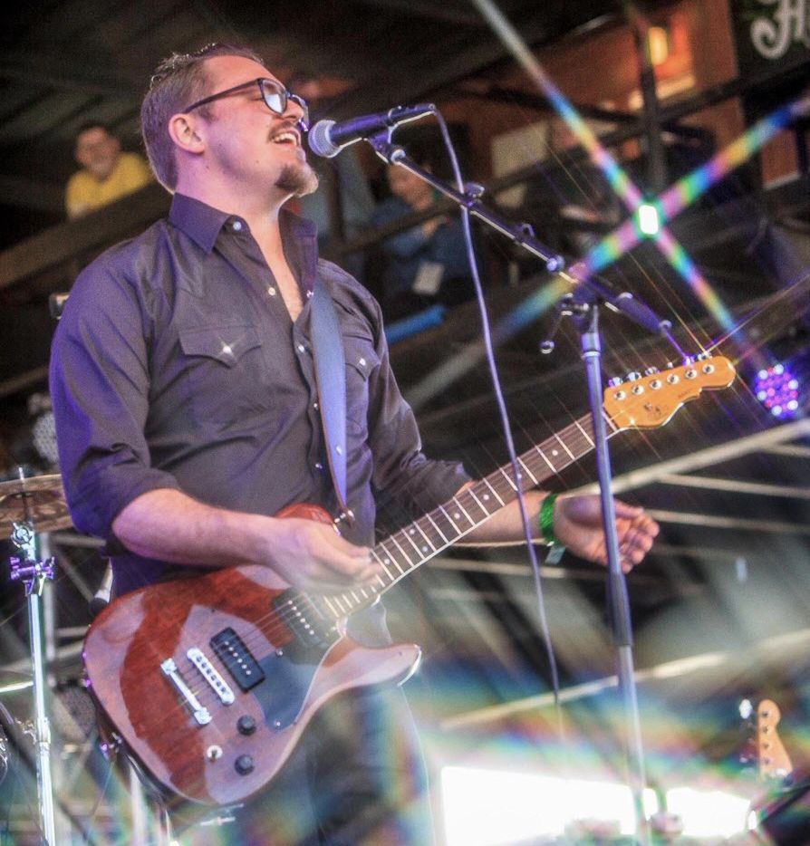 Josh Weathers, shown here in a recent concert, will perform as the headliner at Eric Nadel's annual birthday benefit show at the Kessler Theater on May 26.