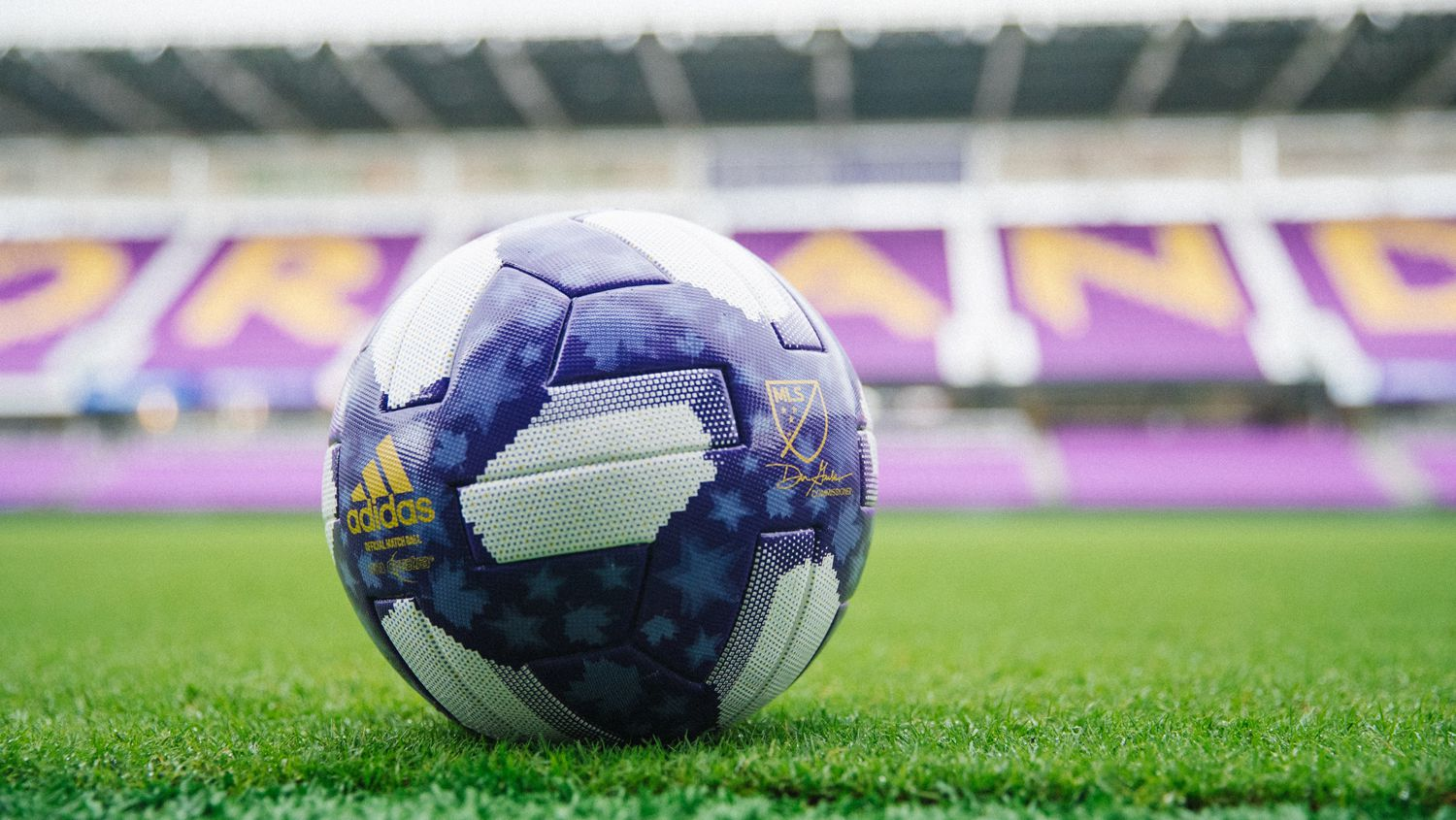 The 2019 MLS All-Star Game Ball.