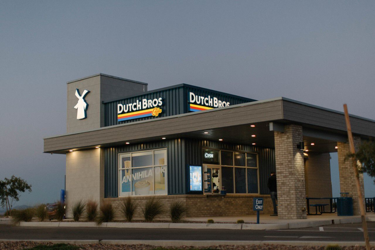 Dutch Bros Coffee is set to open the first of at least 10 area stores in McKinney this spring.