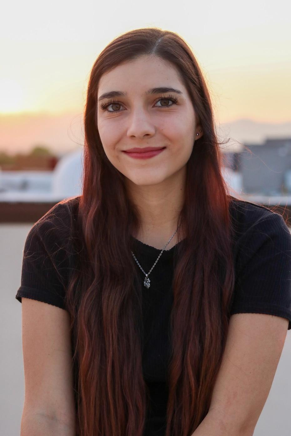 Landy Mendiola, de 26 años, es estudiante de la Universidad de Texas en El Paso.